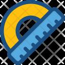 Protractor Degree Tool Icon