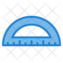 Protractor Tool Office Tool Icon
