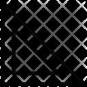 Protector Semicircular Geometry Icon
