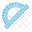 Protractor Degree Tool Geometry Icon
