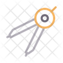 Protractor Design Creative Icon