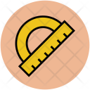 Protractor Drafting Triangle Icon