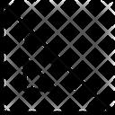 Protractor Set Square Triangle Icon