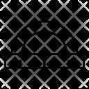 Protractor Design Draw Icon