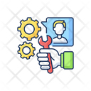 Service Maintenance Business Icon
