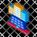 Providing Solar Panels Icon