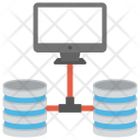 Proxy Server Networked Icon