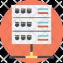 Server Proxy Web Icon