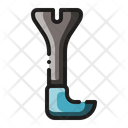 Pry Bar Crowbar Tool Icon