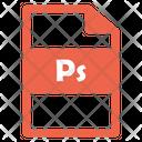 Ps File Ps File Icon