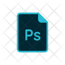 Ps File Photoshop Icon