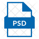 Psd Psd File Photoshop Icon