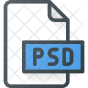 Psd Adobe File Icon