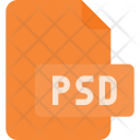 Psd File Photoshop Icon