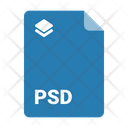Psd Document Format Icon