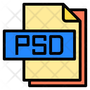 Psd File File Type Icon