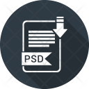 Psd file Icon