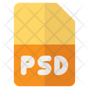 Psd Format Document Format Icon