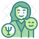Psychologist Doctor Woman Icon