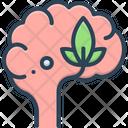 Psychology Head Optimistic Icon