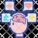 Psychology Psychiatric Brain Icon