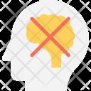 Psychology Close Mind Icon