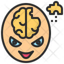 Psychosis Mad Mental Icon