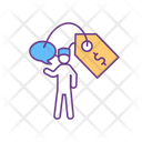 Psychotherapist Session Cost Icon