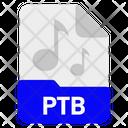 Ptb File Format Icon