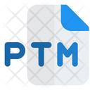 Ptm File Audio File Audio Format Icon