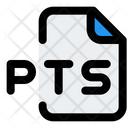 Pts File Icon