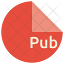 Pub File Format Icon