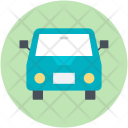 Public Hire Taxicab Icon
