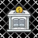 Public Library Donation Public Library Icon