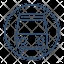 Metro Public Railway Icon