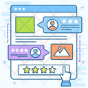 Feedback Form Customer Experience Testimonial Icon