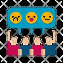 Public Opinion Icon