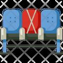 Public Seat Distance Icon