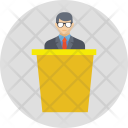 Speaker Speech Dialogue Icon