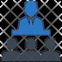 Public Speech Icon