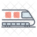 Public Train Transport Bullet Train Icon
