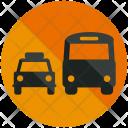 Public Transportation Bus Icon