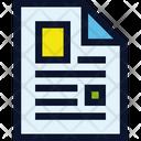 File Publication Magazine Icon