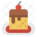 Pudding Food Sweet Icon