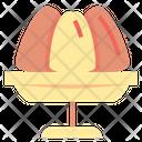 Pudding Cake Desserts Icon