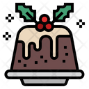 Pudding Pudding Cake Dessert Icon