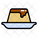 Pudding Custard Cake Icon