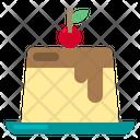 Pudding Food Restaurante Icon