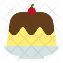 Pudding Food Jelly Icon