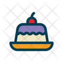 Pudding Cake Dessert Icon